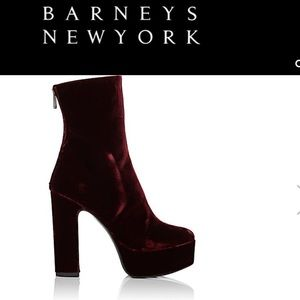 ISO Barney's New York Platform Boots 7